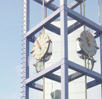 渋谷区役所近くにある時計台